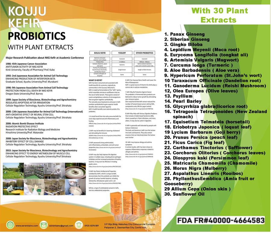 probiotics plant extracts