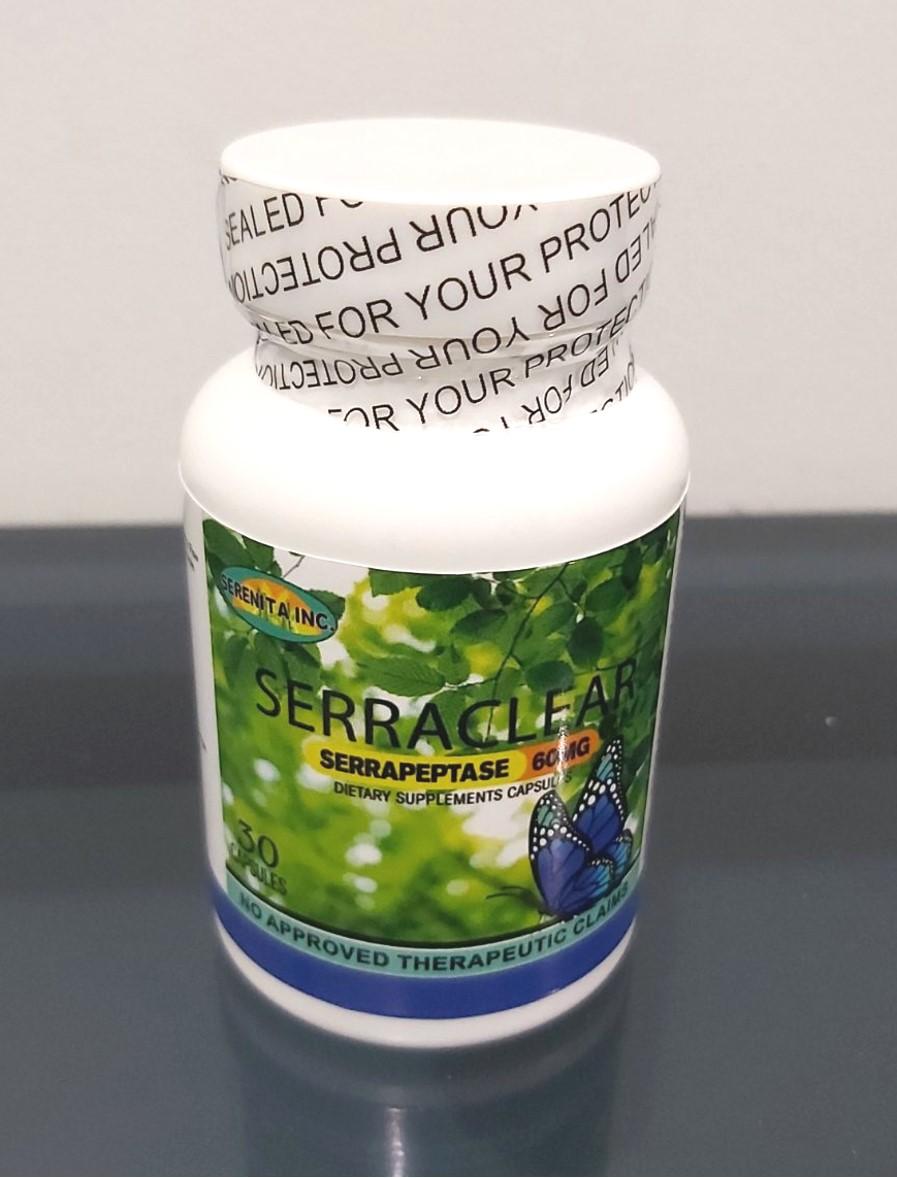 serraclear bottle